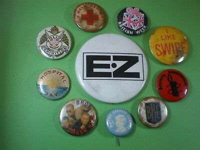 MIXED TINNIE  BADGES X 10 package FREE.