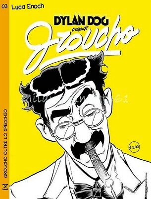 Dylan Dog presenta GROUCHO 3 - Variant LUCA ENOCH Fuoriserie Lucca Comics 2017