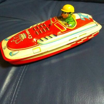 1940's in toy boat crown 77 new article unused beautiful Item From JAPAN F/S