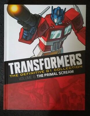 Transformers The Definitive G1 Collection Volume 16 The Primal Scream