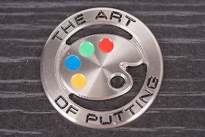 Scotty Cameron brand new 2009 Painters Palette coin ball marker