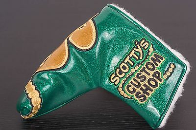 Scotty Cameron brand new Custom Shop Industrial Cash Is King blade headcover