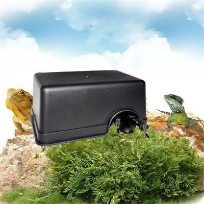 Medium/Large Reptiles Plastic Hide Box Cave For Lizards Snakes Rodents Spiders