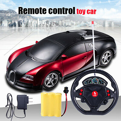 Mini Rechargeable RC Radio Remote Control Micro Racing Car Toy Gift 1:16 Boy