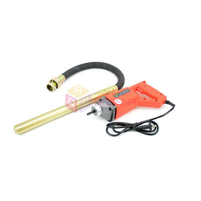 220V Concrete Vibrator 35mm Stable Voltage 800W Motor Construction Tools 35-1A