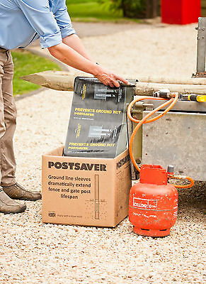 Fence Post Protection-Postsaver Wrap and Tack Sheet 5m