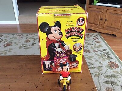 Vintage Mickey Mouse Lot Mickey Magician