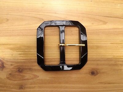 Buckle Black Square Shaped 34599