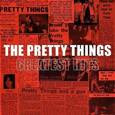 THE PRETTY THINGS 'GREATEST HITS' 180g Double VINYL LP (2017)