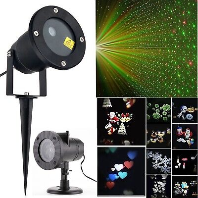 RG Laser Fairy Light Moving LED Lamp Christmas Outdoor Party Landscape Projector