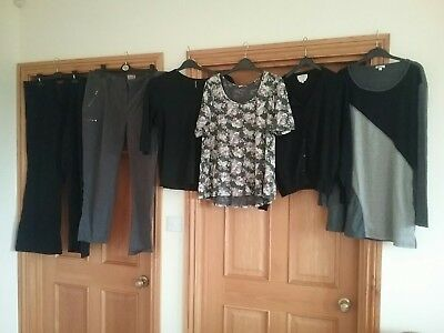 bundle of ladies clothes marks and Spencer next size 20 monsoon jeans jumpers