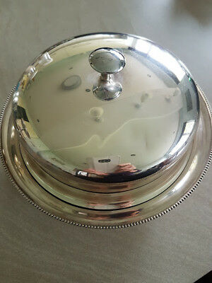 Silver Plated  Muffin Dish made by James Dixon & Sons for Harrods
