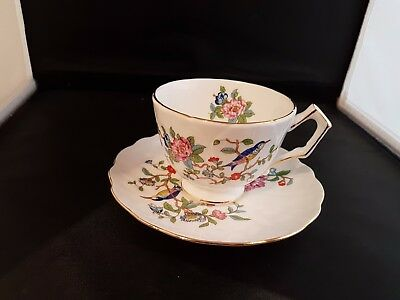 aynsley pembroke breakfast(large) cup & saucer (3 available) rare!!