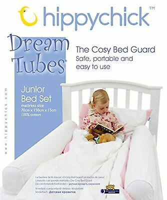 Hippychick Dream Tubes Bed Bumpers - Cot Bed Set white