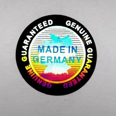 """Hologram Labels Sticker Warranty Void If Removed Tamper Proof """"Made in Germany"""""""