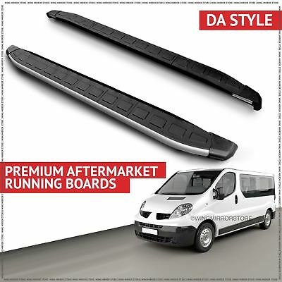 Running Boards Side Steps for Renault (DA) Trafic LWB 2001-2010