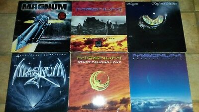 "Magnum Vinyl LP & 12"" collection. Near mint vinyl's."