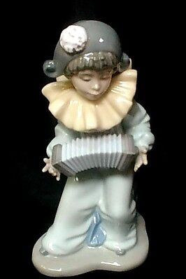 """LLADRO NAO   """"Harequins Concerto""""   20cm / 8 inches High.   Excellent Condition."""