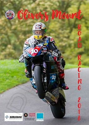 Road Racing Charity 2018 Calendar A3 Oliver's Mount Scarborough for JDF and YAA
