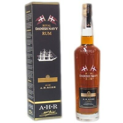 A.H. Riise Royal Danish Navy Rum + GB 700ml 40% Vol.