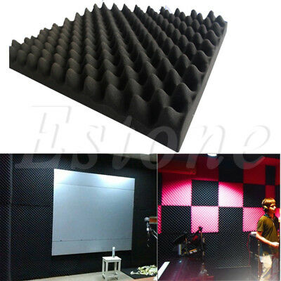 Soundproof Acoustic Sound Thick Absorption Pyramid Studio Foam Board 30*30cm