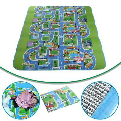 200 x 160cm Baby Kids Crawling Pad Educational Game Baby Play Mat Soft Foam pad