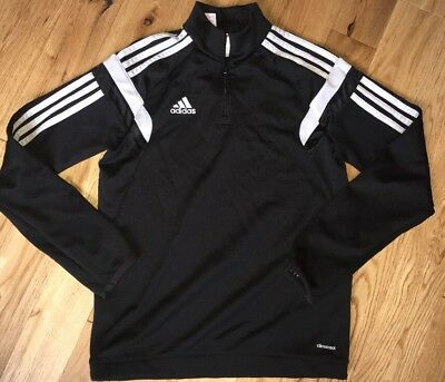 Adidas Climacool Black Tracksuit Top Age 12 Years Great Condition