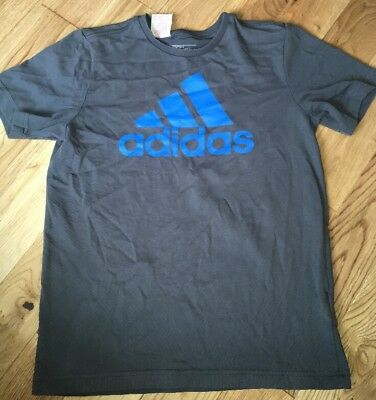 Adidas Grey T-shirt Age 11-12 Years Great Condition