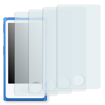 4x Golebo Crystal screen protector for Apple iPod Nano 7G