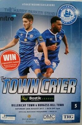 2017/18 Billericay Town v Burgess Hill Town