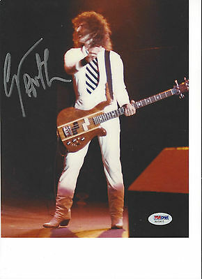 Geezer Butler Signed 8x10 Photo (PSA COA)