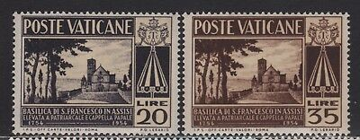 Vatican City 185-186 MNH Complete
