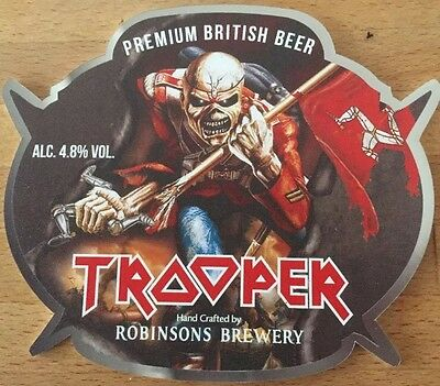 Trooper TT 2016 Pump Clip Iron maiden