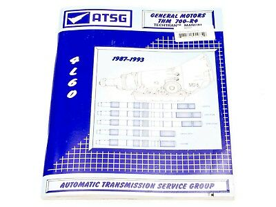 TCI Technical Manual 700R4 1987-93 Paper Back P/N 893001