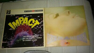 "Two Vinyl 12"" Stereo Orchestral lp's ""This is Stereo"" and ""Impact"" both Mint"