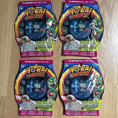 Lot De 4 Sachets YOKAI WATCH