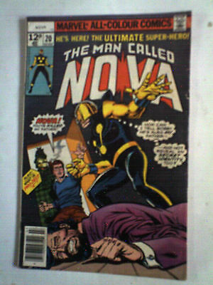 MAN CALLED NOVA 2 Marvel comic FVF 10P J BUSCEMA OCT 1976 bronze age SAVE P&P