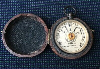 Rare Thomas Armstrong & Brother Pocket Damp Detector - Liverpool Manchester