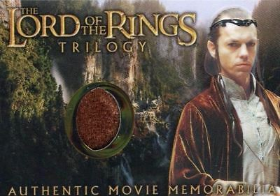 Lord of the Rings Trilogy Chrome Elrond's Rivendell Robe Costume Card