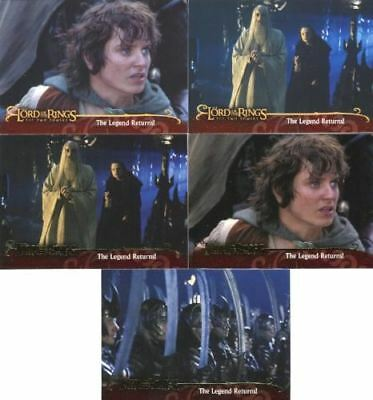 Lord of the Rings Two Towers Promo Card Set 5 Cards