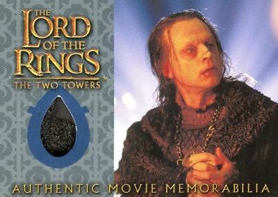 Lord of the Rings Two Towers Update Wormtongue's Velvet Underfrock Costume Card