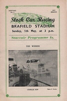 Stock Car Racing Brafied 1957 Season