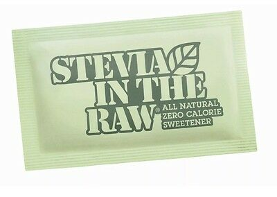 Stevia in the Raw Zero Calorie Sweetener -1000 Packets-brand New Sealed Box