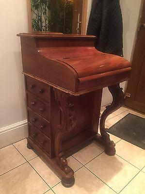 Harlequin Davenport Desk Mahogany Medium Toned