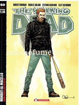 The Walking Dead n.50 Saldapress Variant Cover ZOMBIE WALK Lucca Comics 2017