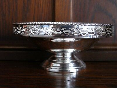 Nice Elkington Sterling Footed Bowl
