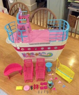 Barbie Sisters Cruise Ship Bundle with accessories