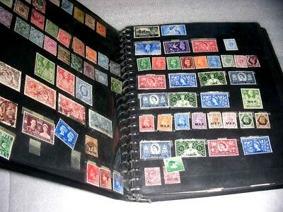 BRITISH COLONIES, GREAT BRITAIN, Excellent Stamp Accumulation hinged/mounted on