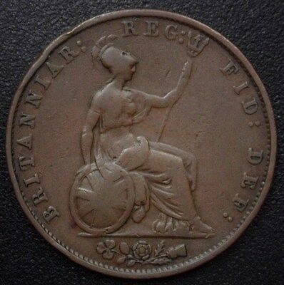 Great Britain 1853 1/2 Penny Km#726  Extremely Fine