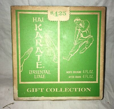 1968 Hai Karate Box With Cologne And After Shave